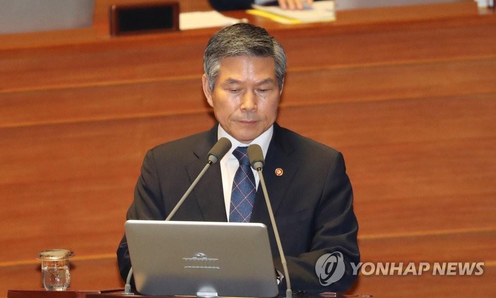 韩防长:韩朝签军事协议后朝方无挑衅行为