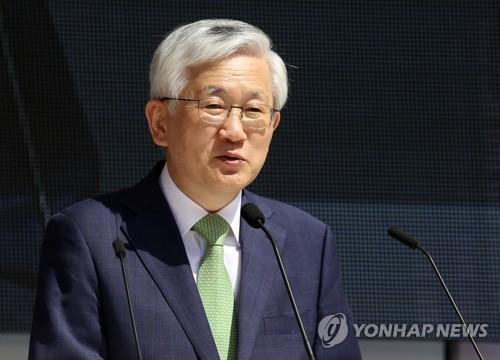 韩国驻日大使南官杓举行离任招待会