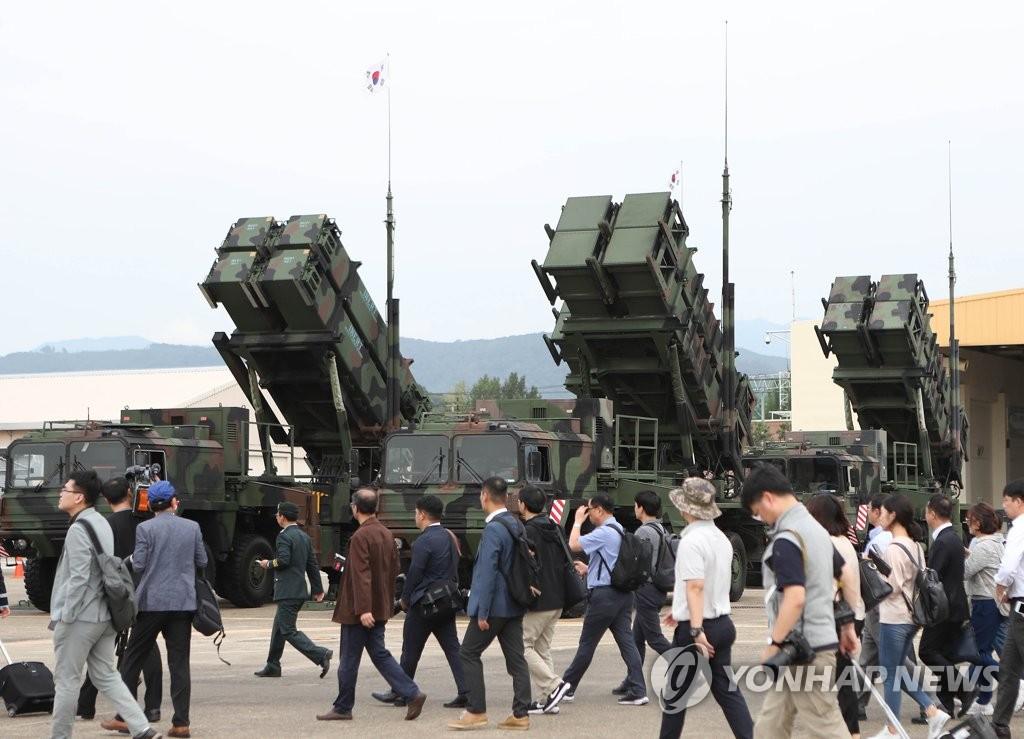 消息:韩军在总统府后山部署爱国者防空导弹