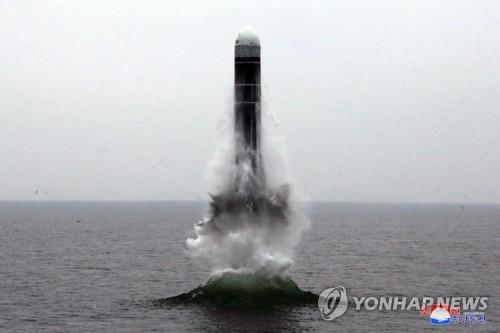 """详讯:朝鲜称""""北极星3""""号潜射导弹试射成功"""