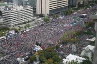 韩政府重申将严惩下月初节假日违法集会