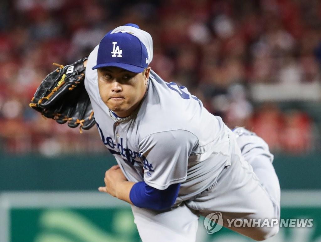 柳贤振收获美职棒季后赛第三场胜利