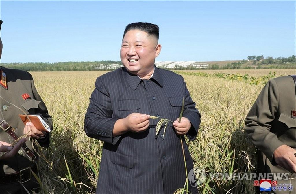 金正恩视察部队农场 强调解决吃饭问题