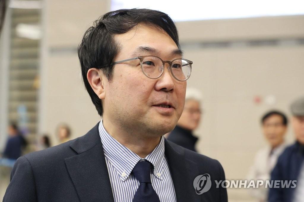 韩对朝代表结束访美行程抵韩
