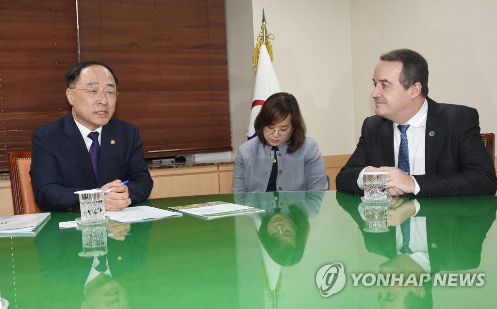 韩国将为绿色气候基金出资2亿美元