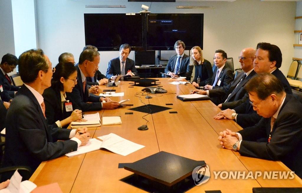 韩经济团体赴美会见国务院官员