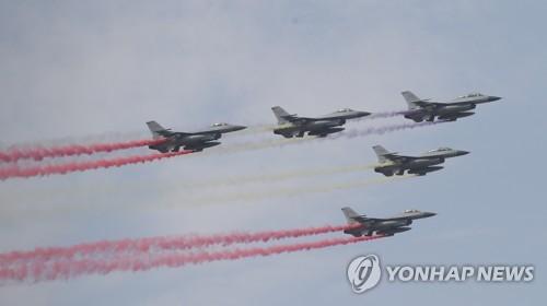 KF-16亮相首尔航展媒体开放日