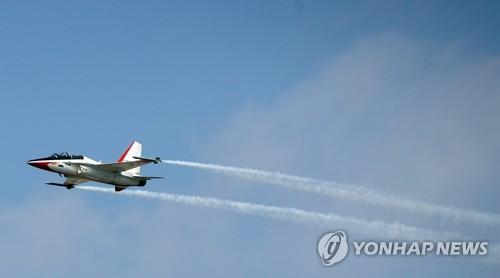 T-50亮相首尔航展媒体开放日