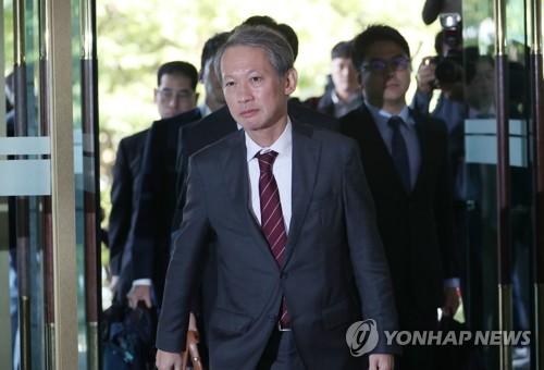 日本外务省局长抵达韩国外交部