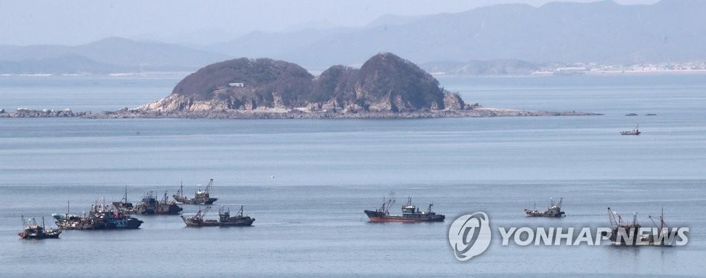韩国西部海域非法捕捞中国渔船增多