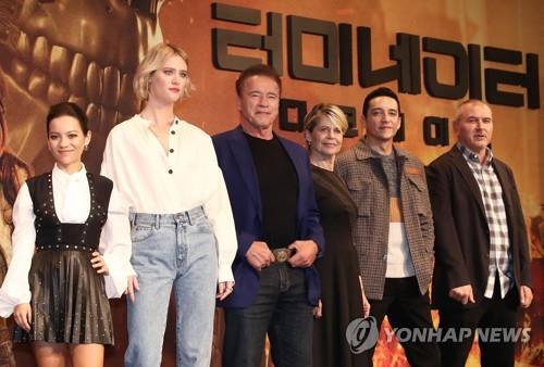 《终结者:黑暗命运》主创访韩