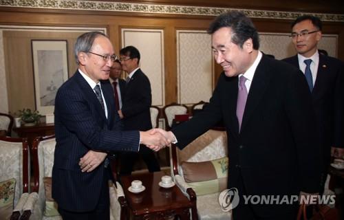 详讯:韩国总理李洛渊抵达东京开启访日之旅