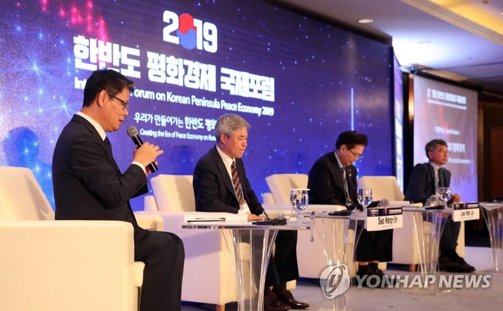 韩统一部长官造势和平经济