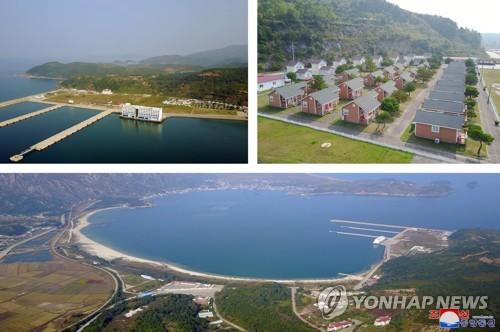 朝鲜金刚山旅游区