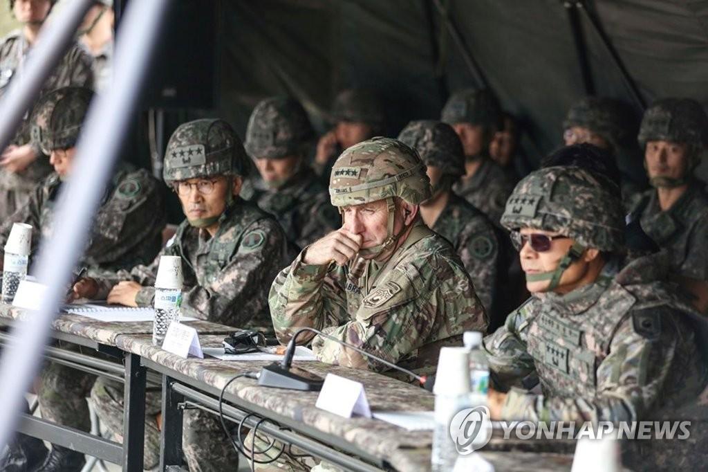 韩美纪念联军司令部成立41周年