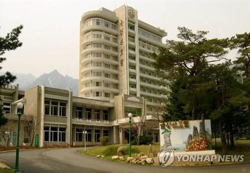 韩拟向朝再发通知提议讨论金刚山旅游问题