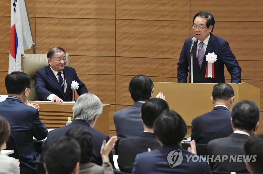 韩日议员联盟吁早日举行文安会