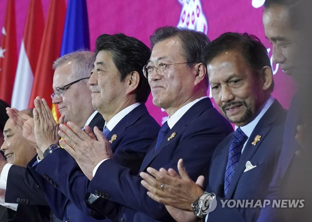 文在寅:韩日领导人会面为两国对话迈出一步