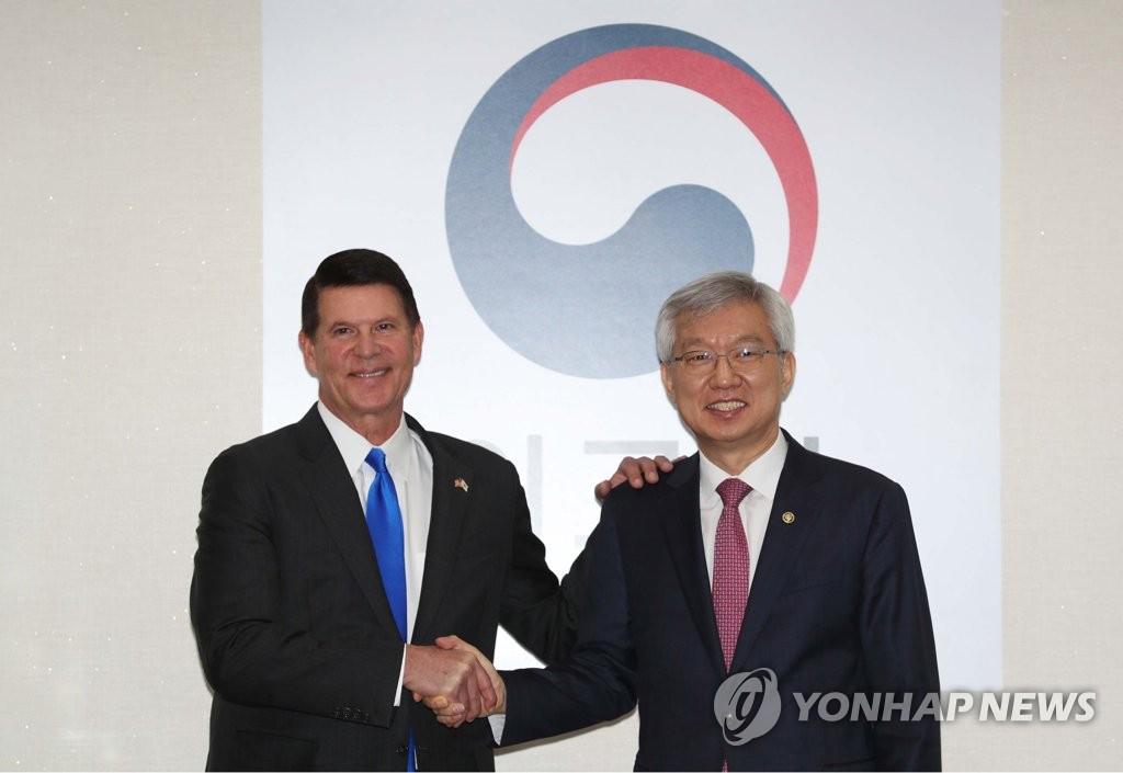 详讯:韩美举行战略经济对话并发表联合声明