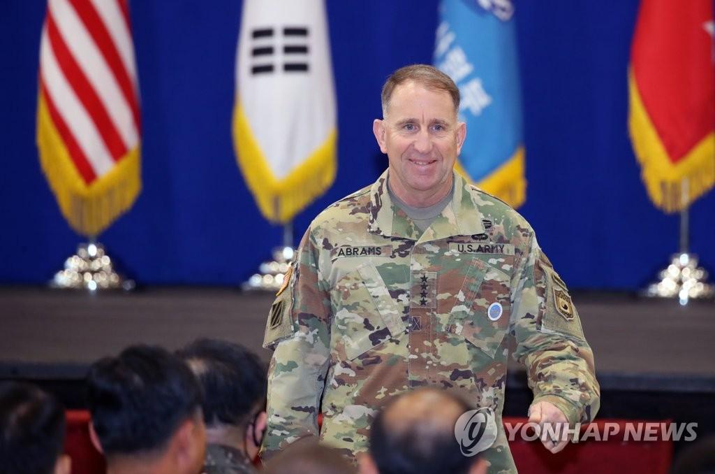 韩美联军司令:韩日终止军情协定或被误解示弱