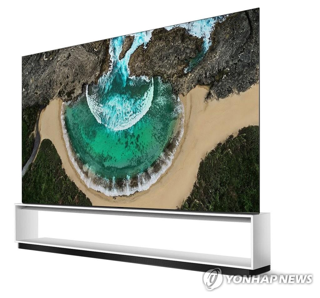 LG 8K电视获CES创新奖