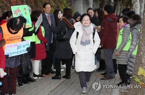 韩国高考最高龄考生