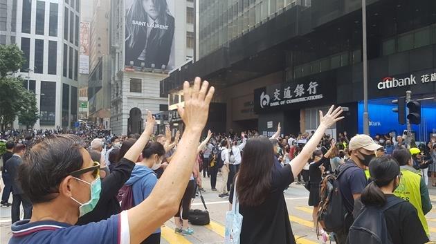中国驻韩大使馆发文谈香港局势