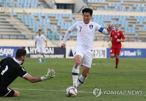 世预赛韩国客场0比0战平黎巴嫩