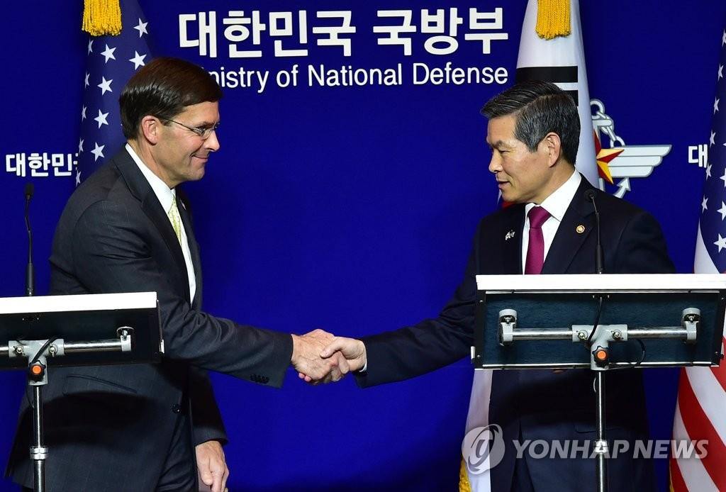 韩美防长表示将为韩朝美履约营造良好环境