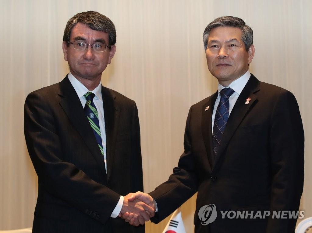 详讯:韩日防长会晤就军情协定重申原则立场