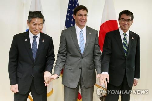 韩美加澳举行联合海上演习 日本缺席