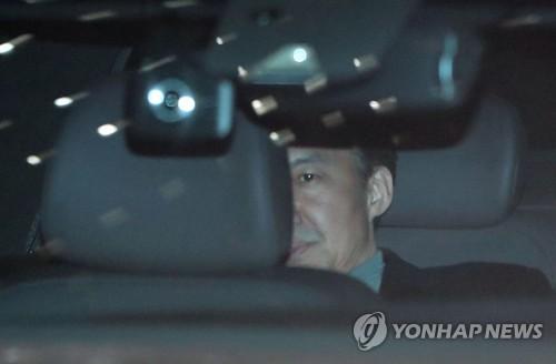 韩国前法务部长官曹国第三次受讯