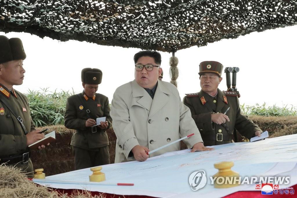 韩国对金正恩指导发射海岸炮表遗憾