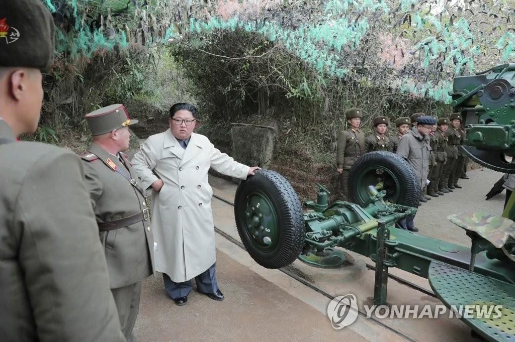 韩国防部通过军事热线抗议朝鲜发射海岸炮