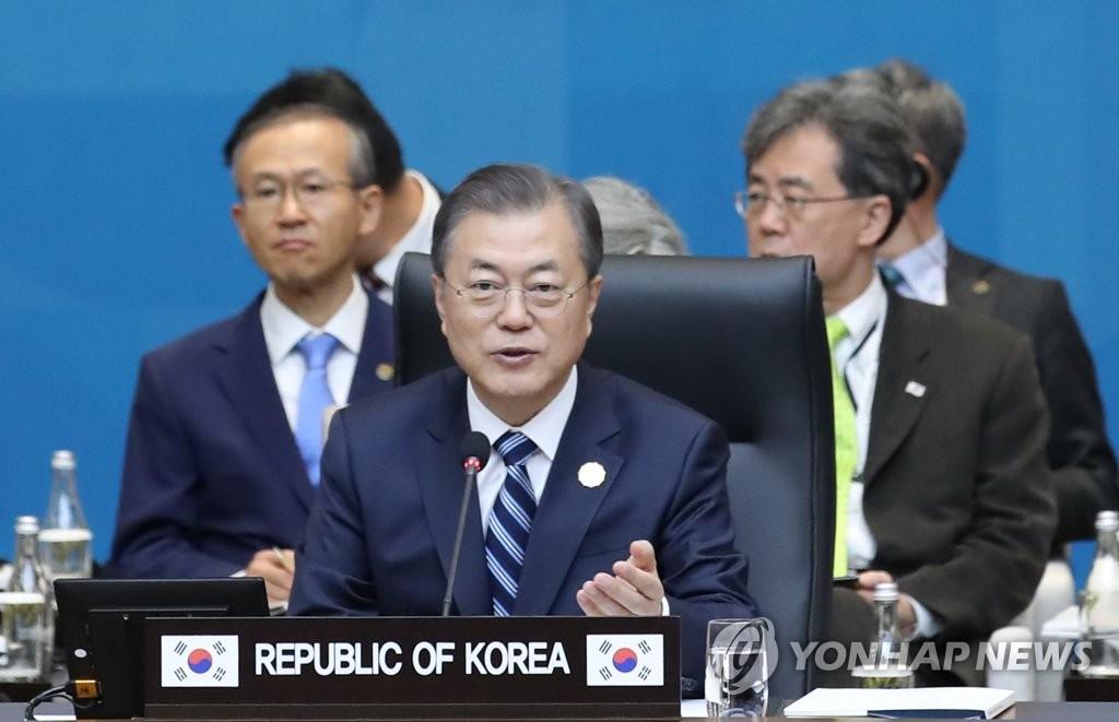 韩国和东盟发表联合声明共绘和平繁荣愿景