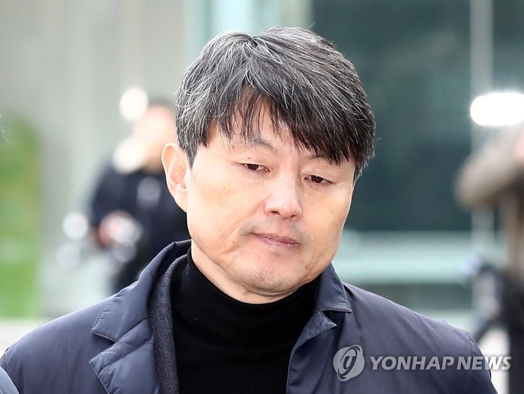 资料图片:前釜山副市长柳在洙 韩联社