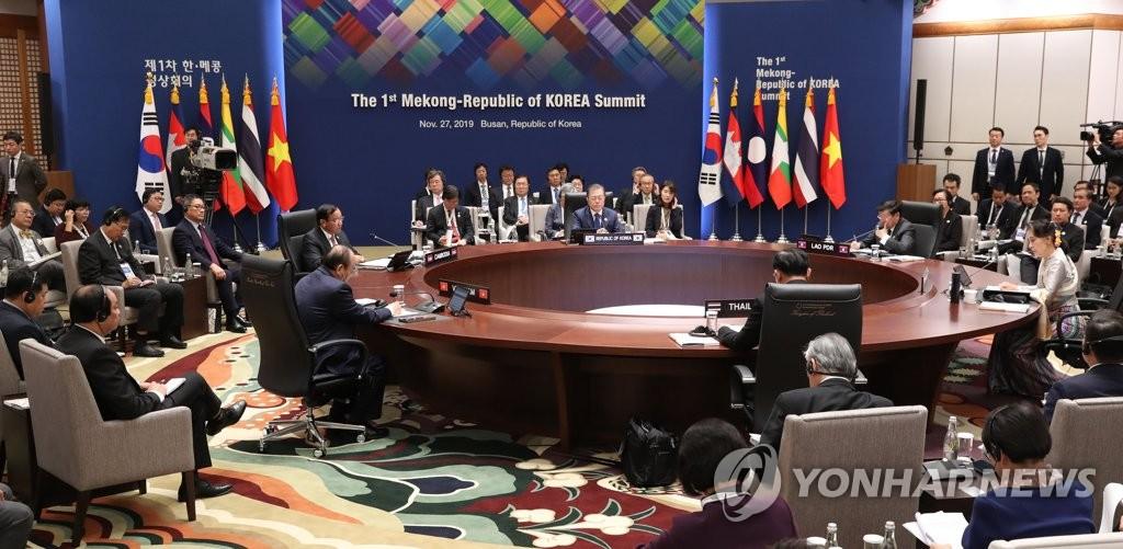 韩青瓦台发布韩国和东盟系列峰会结果