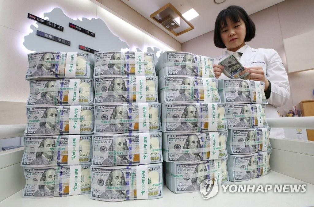 韩外储再创新高