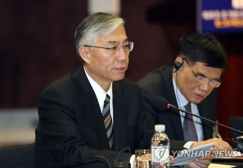 中国驻韩大使邱国洪发言