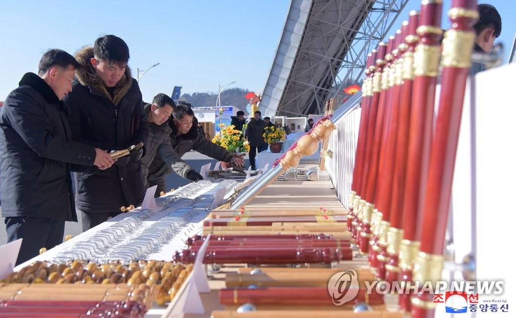 朝鲜建材展会开幕