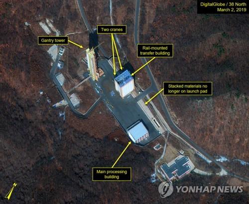 分析:朝鲜卫星发射场成对美施压筹码