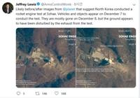 """朝鲜""""重大试验""""或指液体火箭发动机升级"""