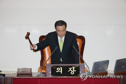 韩国国会表决通过2020年度预算案