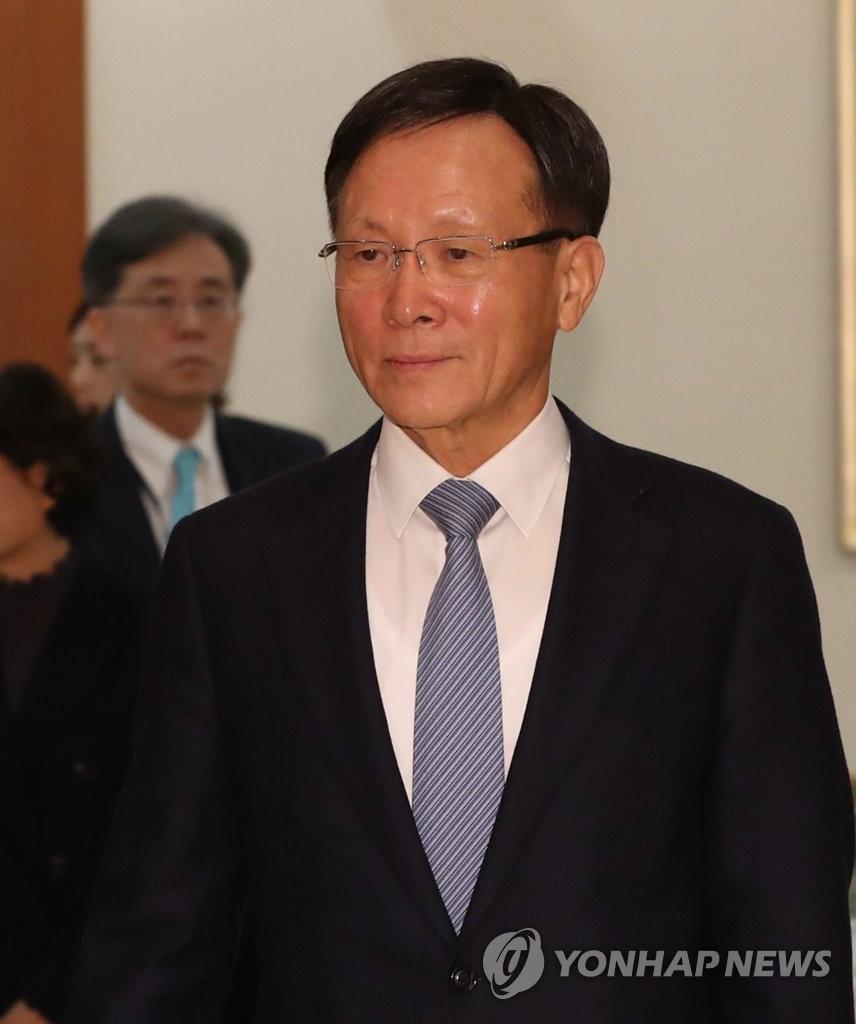 韩国新任驻美大使向特朗普递交国书