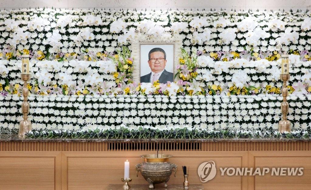 LG集团第二任会长具滋暻出殡仪式低调举行