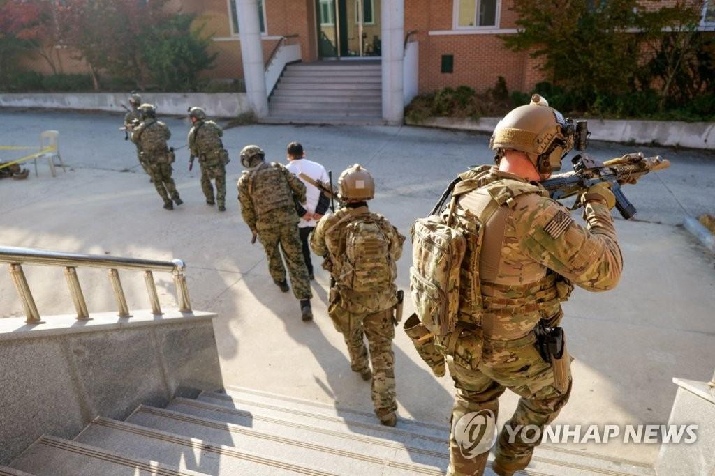 韩美国防部澄清反恐联演性质称部分媒体误解