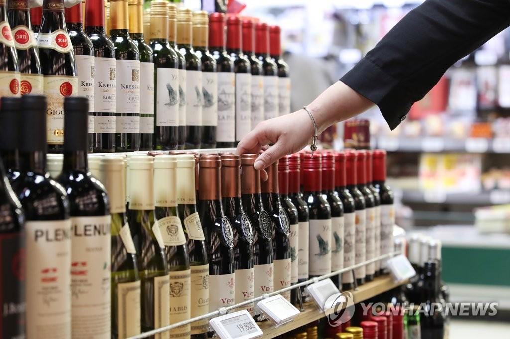 统计:韩酒类进口量五年间增125%