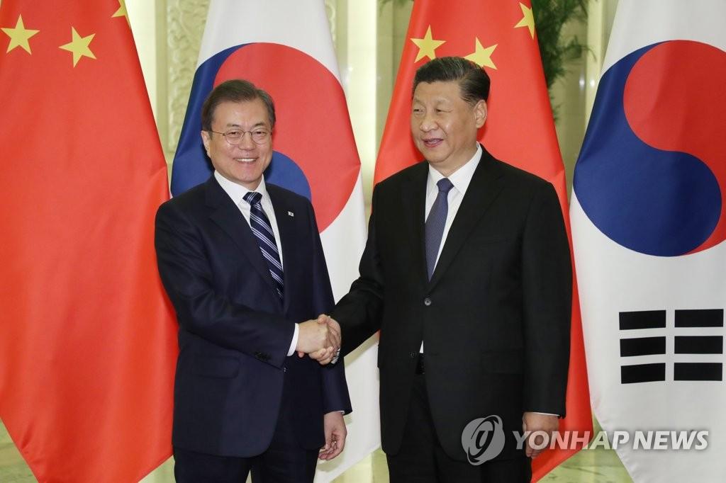 韩外交部向中方转达文在寅涉香港新疆事务发言立场