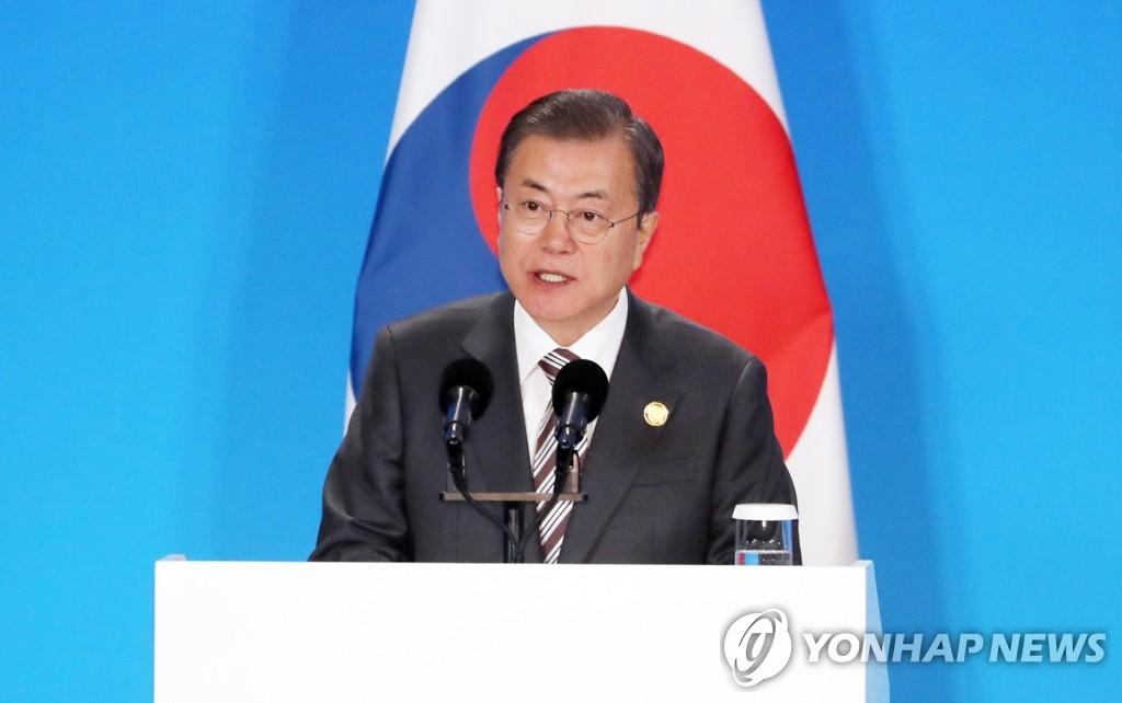 文在寅吁国际社会以行动回应朝鲜无核化措施