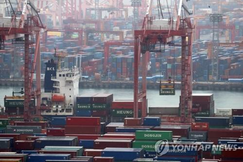 韩2月前20天出口同比增12.4% 日均减9.3%